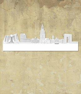 Skyline Groningen wit groot vrijstaand