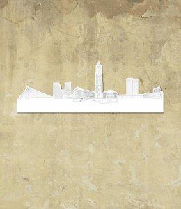 Skyline Utrecht wit klein vrijstaand