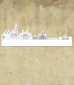 Skyline Maastricht wit groot vrijstaand