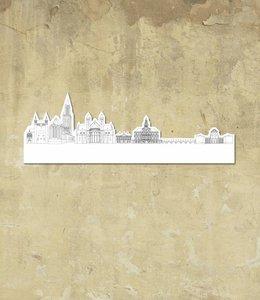 Skyline Maastricht wit klein vrijstaand