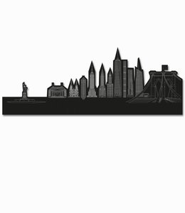 Skyline New York - Zwart vrijstaand