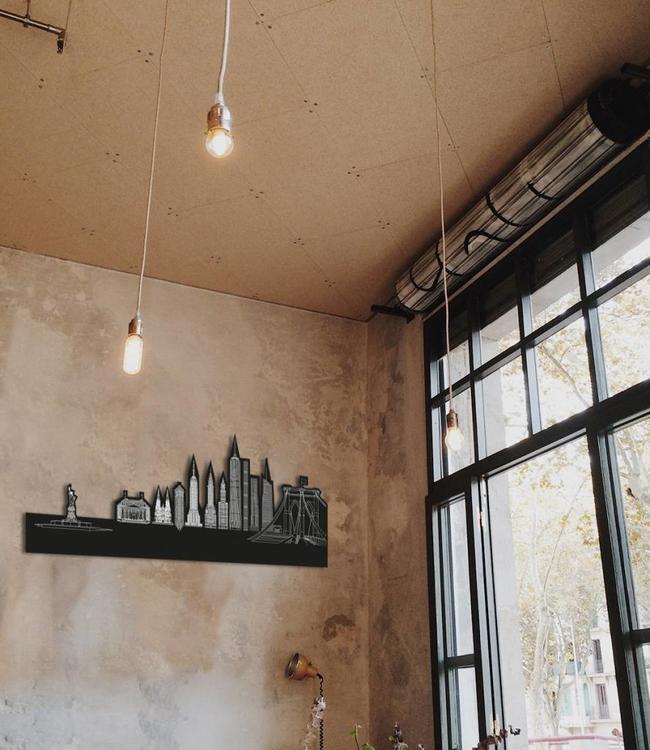 Skyline New York - Zwart vrijstaand