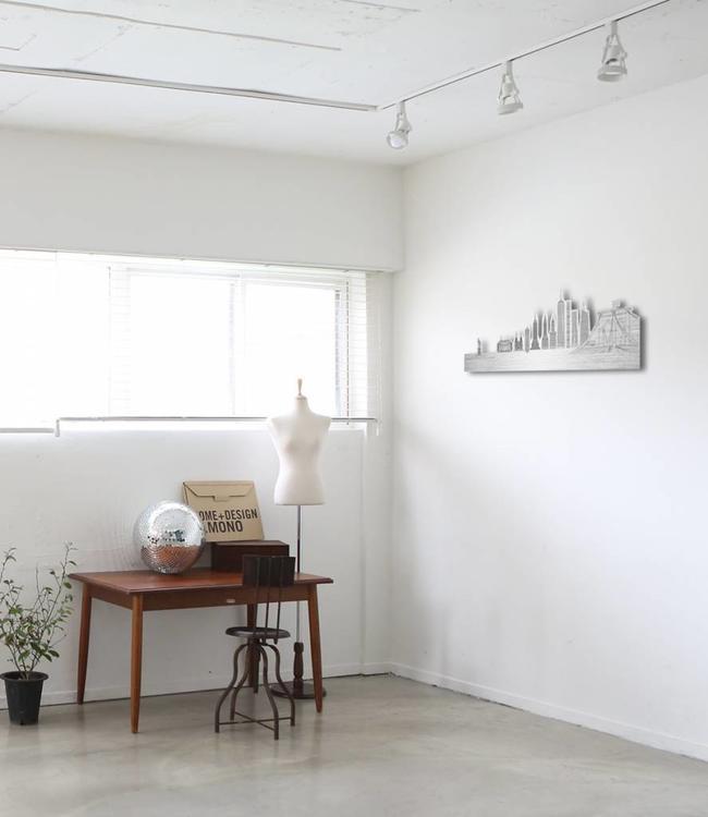 Skyline New York - Aluminium vrijstaand klein