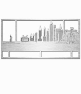 Skyline New York - Aluminium kader