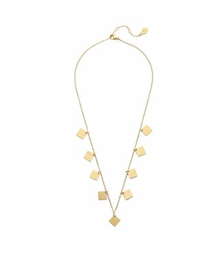 KETTING ONLY SQUARES | GOUD