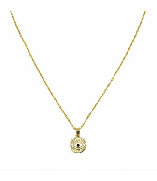 KETTING  CURIOUS EYES | GOUD