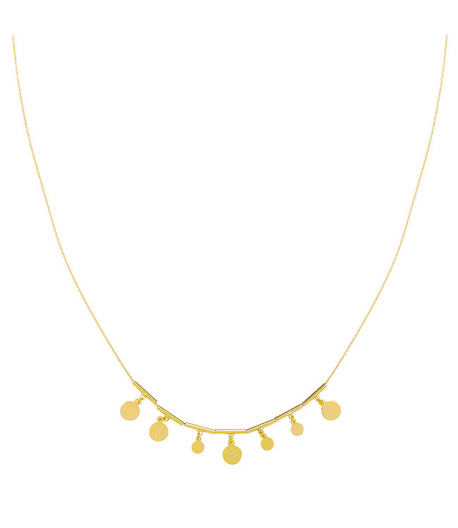 KETTING MY LITTLE COINS | GOUD