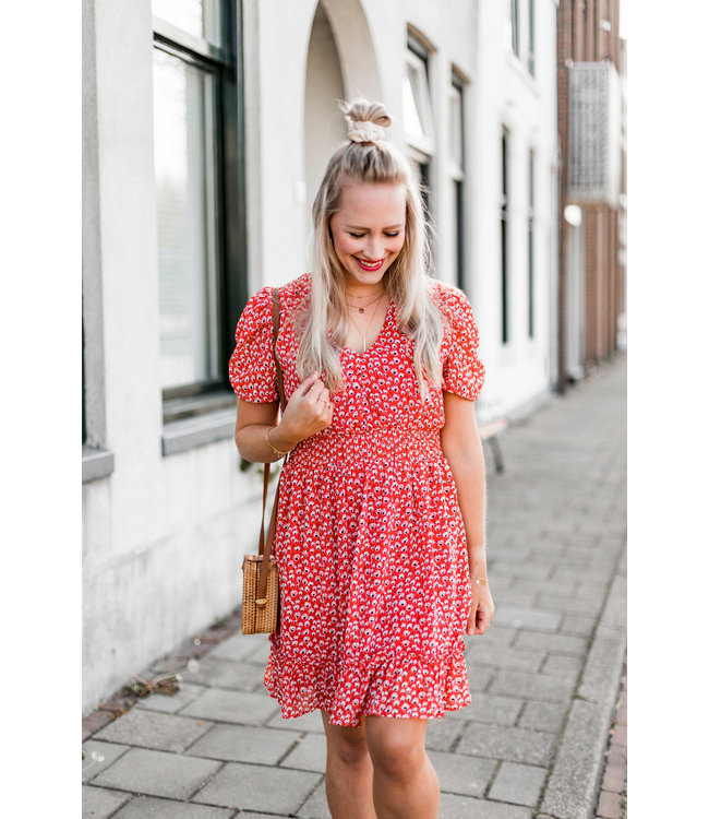 DRESS DAISY | RED