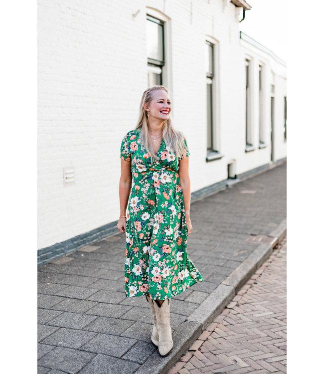 DRESS BIBI | GREEN MAAT S