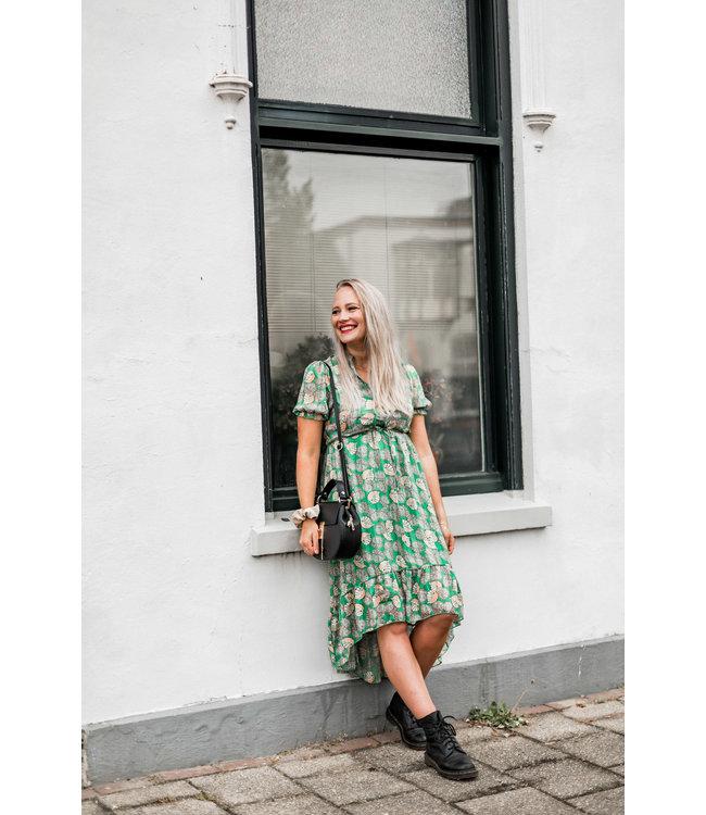 DRESS SOPHIE | GREEN MAAT S