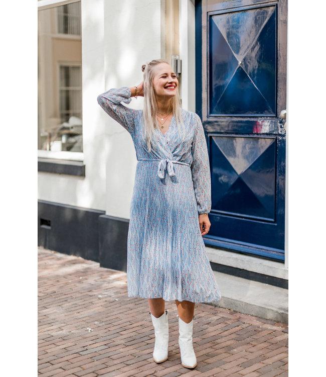 DRESS JOLIE BLUE