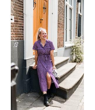 DRESS YARA | LILA LEOPARD