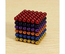 Kula pussel av magnet Set med 216 stycken olika färger
