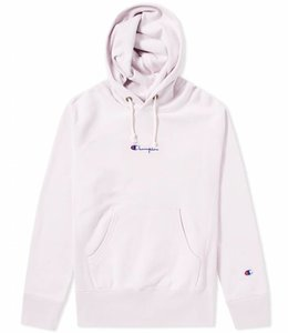 Champion Embroidered Small Script Logo Hoodie