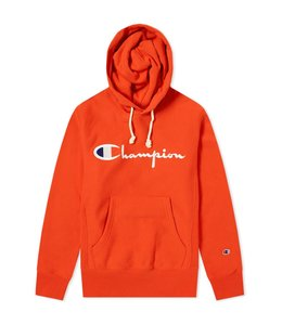 Champion Embroidered Script Logo Hoodie