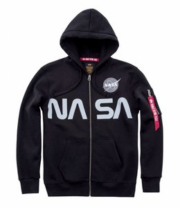 Alpha Industries NASA Reflective Zip Hoodie