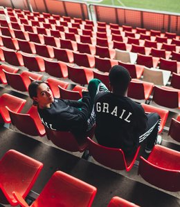 GRAIL adidas crewneck