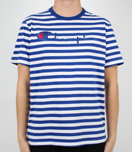 Champion Striped Script Logo