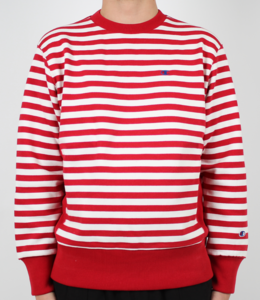 Champion Stripe Crewneck