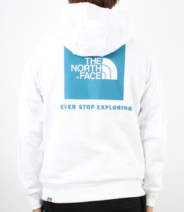 The North Face Raglan Box Logo Hoodie