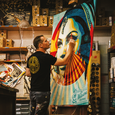 Shepard Fairey: The Man Behind OBEY