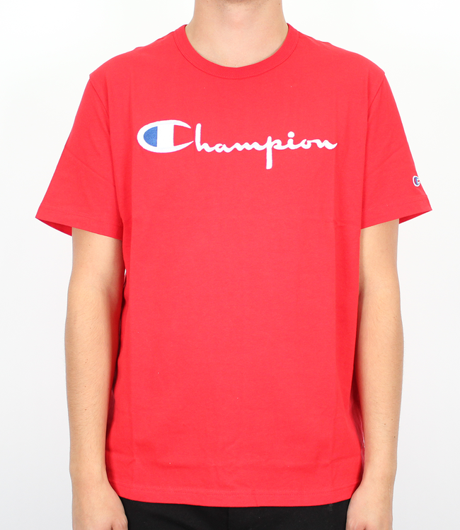 Champion Embroidered Script Logo Tee