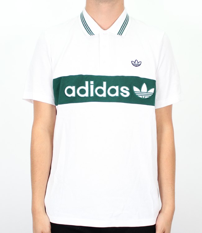 adidas Stripe Polo