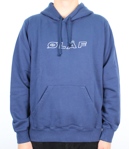 Olaf Hussein Reflective Italic Hoodie