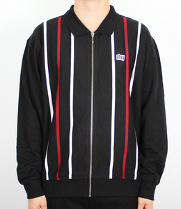 Obey Slick Zip Polo