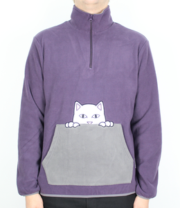RipNDip Peeking Nerm Brushed Fleece Half Zip