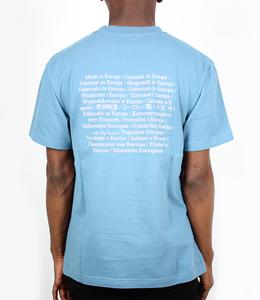 Olaf Hussein Washing Label T Blue