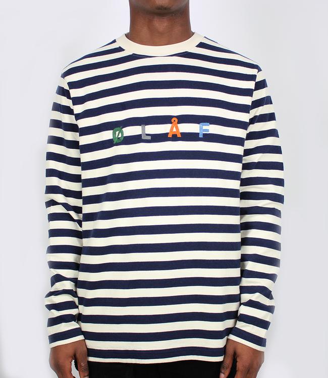 Olaf Hussein Stripe Sans LS