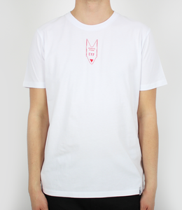 Red Outline Ticket Tee