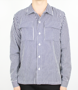 Woodbird Prizon Stripe Shirt