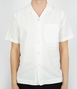 Olaf Hussein Overshirt SS White