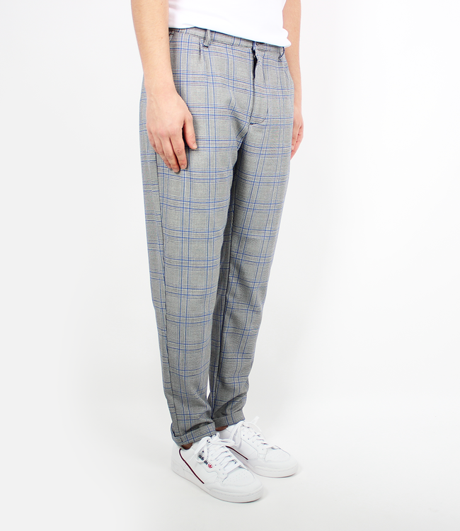 Woodbird Klaus Check Pant