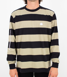 New Amsterdam Surf Association Breton Longsleeve Aloe/Black