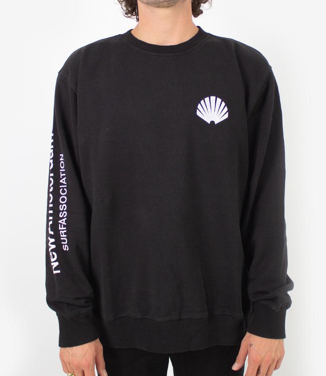 New Amsterdam Surf Association Logo Sweater Black