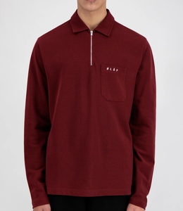 Olaf Hussein Zip Polo LS