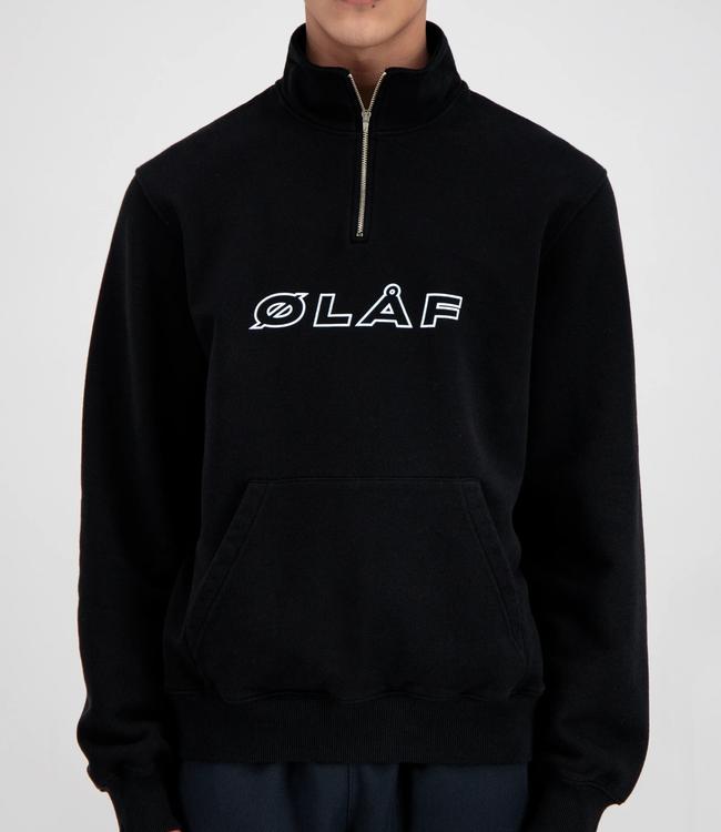 Olaf Hussein Zip Mock Sweater
