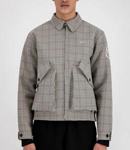 Olaf Hussein Wool Baracuta Jacket