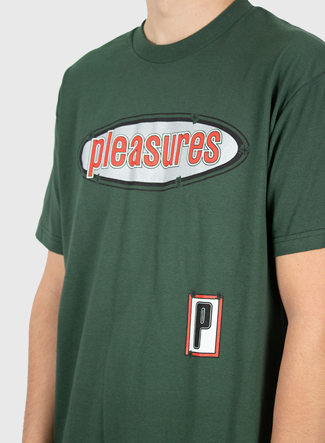Eazy T-shirt Forest Green
