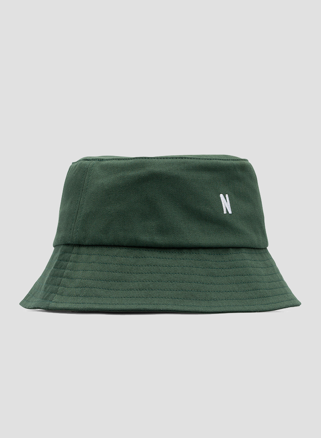 Twill Bucket Hat Dartmouth Green