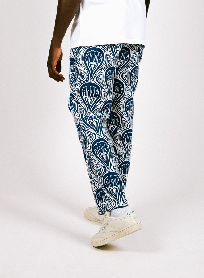 Jean Novo Pants Blue White