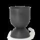 Ferm Living Hourglass Pot - Black Medium
