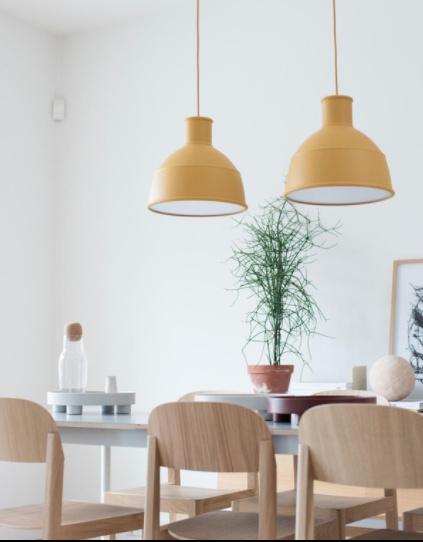 Muuto Unfold Pendant Lamp - Mustard