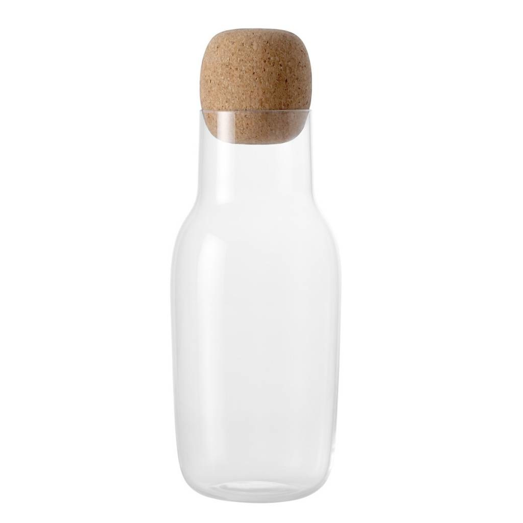 Muuto CORKY /  CARAFE & GLASSES - Carafe - Clear / Cork