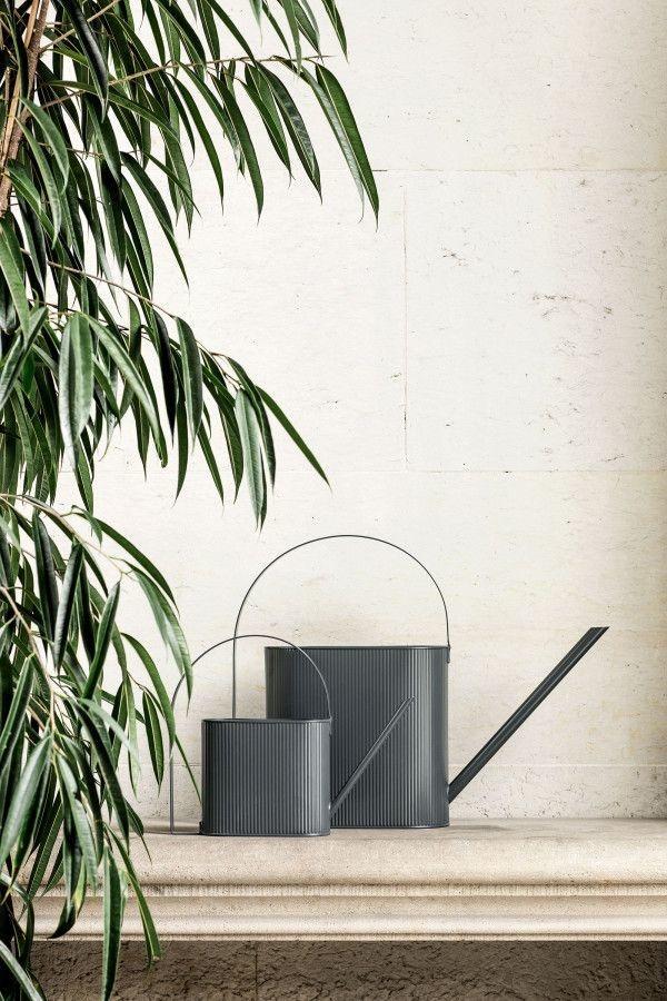 Ferm Living BAU Watering Can - Large - Black - 8L