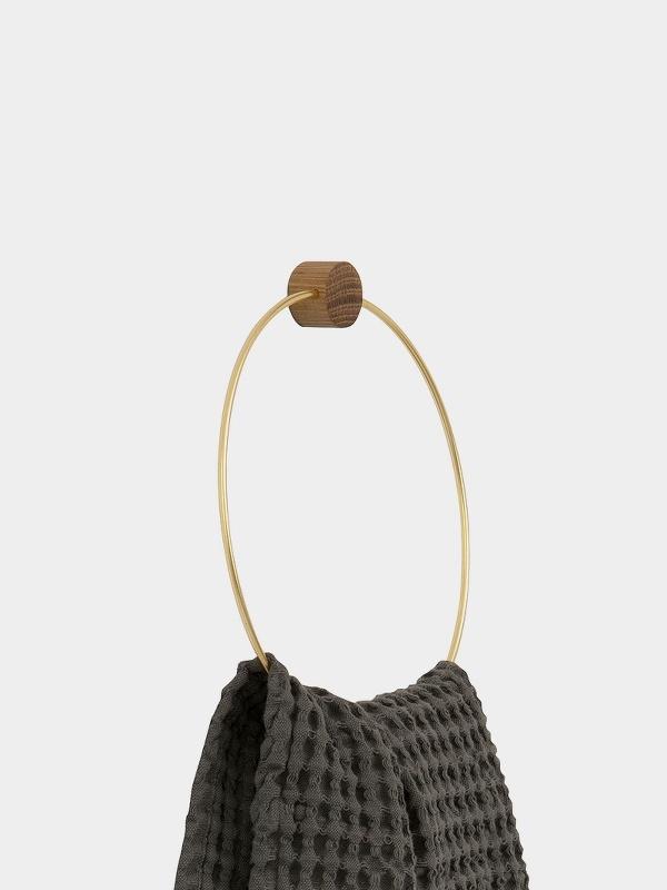 Ferm Living Brass Towel Hanger