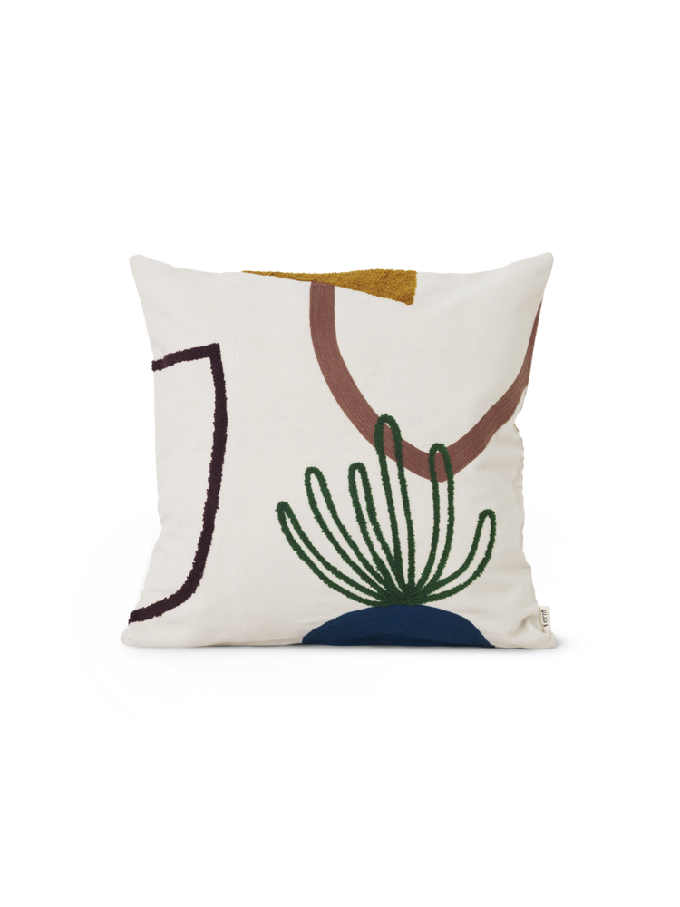Ferm Living Mirage Cushion - Island